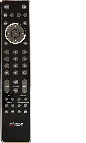 XCD5 remote
